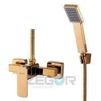 Смеситель  для душевой кабины ZEGOR Z65-LEB5-A123-G золото