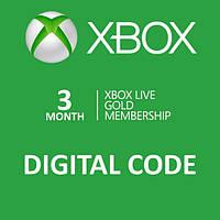 Xbox Live GOLD 3 месяца (RU), ESD - электронный ключ