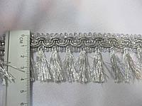 Бахрома люрекс срібло 4,см.