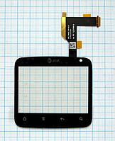 Тачскрин сенсорное стекло для HTC ChaCha/G16 A810e black