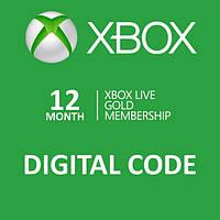 Xbox Live GOLD 12 месяцев (RU), ESD - электронный ключ