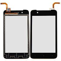 Тачскрин сенсорное стекло для HTC Desire 210 Dual Sim black