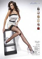 Классические женские чулки Hush от Bas Bleu (Польша) Цвет черный