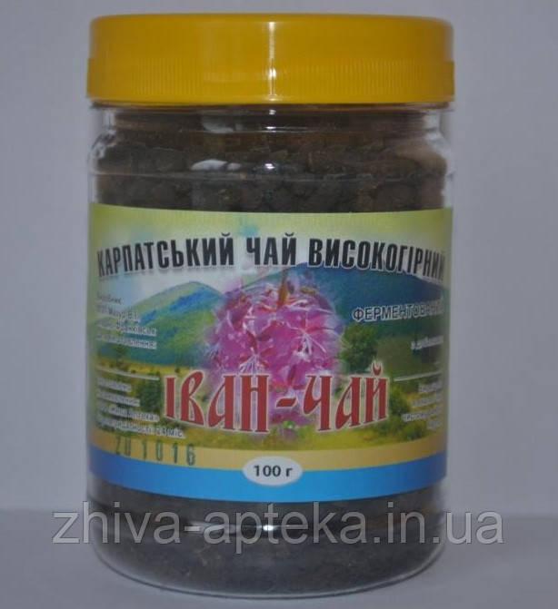 Иван-чай ферментированный с листьями вишни (Карпатский высокогорный) 100грамм