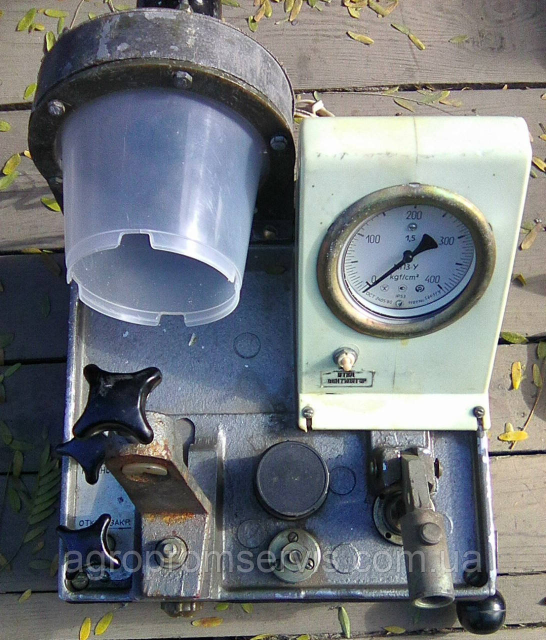 КИ 15706-01 Стенд для испытания и регулировки форсунок литой чугунный корпус