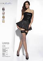 Тоненькие женские чулки Lorenza 8 den от Bas Bleu (Польша) Цвет черный