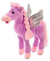 Мягкая игрушка Лошадь с крыльями фиолетовая (музыкальная, 25,5 см), Lava (LF551A-2)