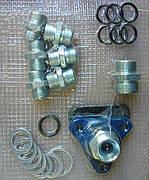 Набор штуцеров гидрорасрпределител типа Р-80, 3-х секционный для подключения шлангов,МТЗ,ЮМЗ,Т-40