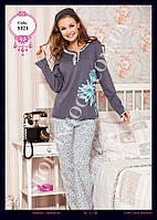 Женская пижама Anit 5021, костюм домашний с брюками