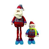 Дед Мороз, Снеговик  64см с гнущимися ногами, в ящ. микс 2 вида 800885