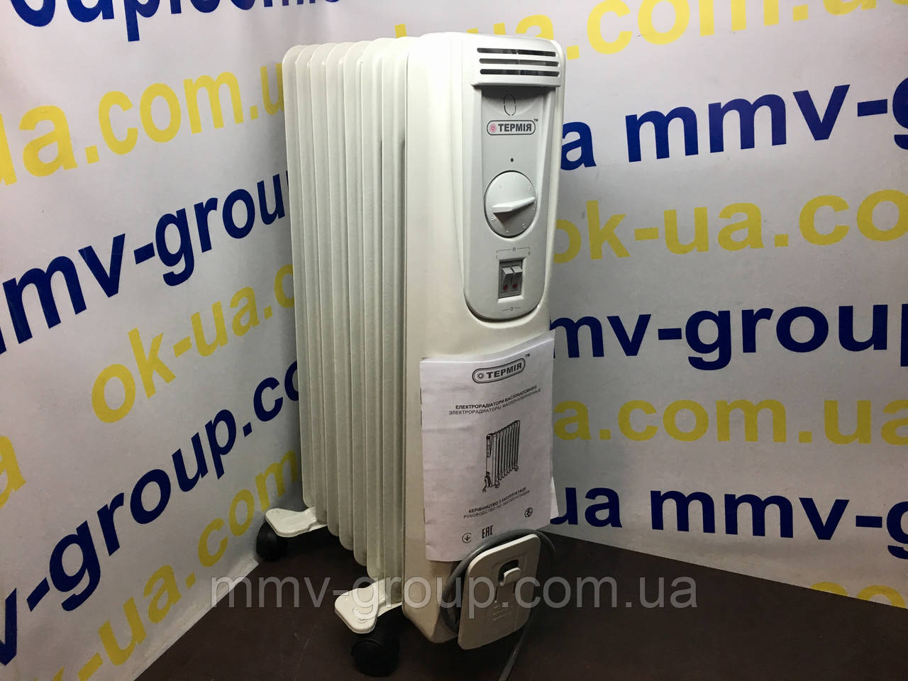 Масляный радиатор 0715 Термия 1,5 КВт, 8 секций