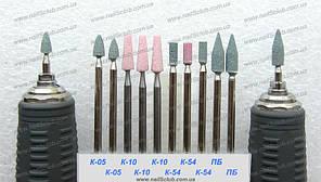 Керамические фрезы для обработки кутикулы и боковых валиков
