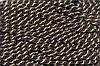 Канат декоративный ПЭ 10 мм (50м) т.коричневый+золото