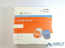 Альфа-дент (CompositeAlpha-dent,Dental Technologies), набор 14г+14г