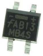 Диодный выпрямительный мост MB4S  (0,8A; 400V)