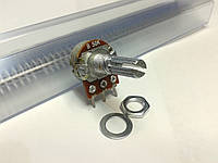 Резистор переменный WH148 50 кОм, 3 pin, моно, 20 мм.