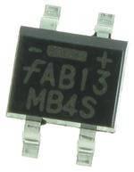Диодный выпрямительный мост MB8S  (0,8A; 800V)