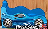 Кровать машина Рейсинг Шок Драйв (сплошная ламинированная наклейка) купить http://кровать-машина.com.ua/ БЕСПЛАТНАЯ ДОСТАВКА! Мебель Рейсинг под заказ!