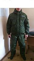 Костюм охраны камуфлированный, утепленный. Зимняя форменная одежда