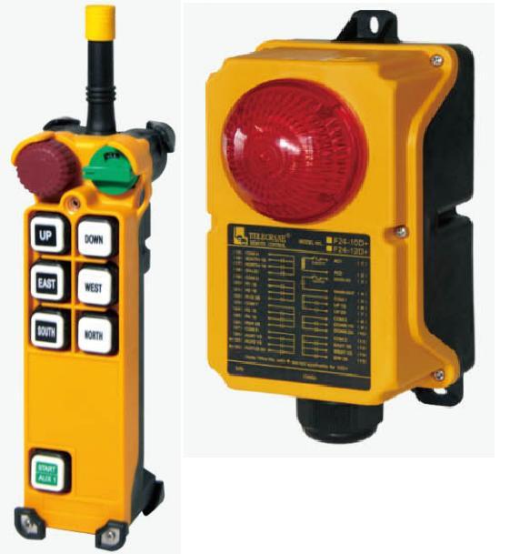 TELECRANE модель F24-6S+ Промышленное радиоуправления - Малое предприятие Ремикс в Белой Церкви