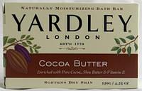 Yardley London Натуральное мыло с маслом Ши, какао и витамином Е 120 г (США)