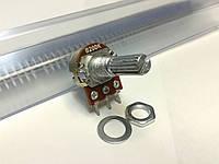 Резистор переменный WH148 200 кОм, 3 pin, моно, 20 мм.