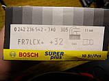 Свічки запалювання BOSCH, FR7LCX+, +32, 1.1, Super +, 0242236542, 0 242 236 542,, фото 2