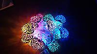 Светодиодная гирлянда сердечки 5 метра разноцветная