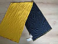 41х141 см  Шарф  Трикотажный Желтый черный