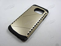 Противоударный чехол Samsung Galaxy S7 (золотистый), фото 1