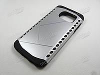 Противоударный чехол Samsung Galaxy S7 (серебристый)