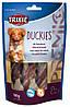 Trixie TX-31538 Premio Duckies 100 гр - лакомство утка с кальцием  для собак