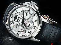 SEIKO Premier «SRX007J1+Браслет» Kinetic Direct Drive • Moonphase • Made in Japan