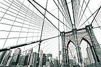 """Бесшовные фотообои """"Мост"""" 435х300 см"""