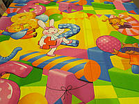 "Ткань для пошива детского постельного белья бязь премиум 1,5 м Цифры / ""Чарівна Ніч"""