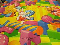 """Ткань для пошива детского постельного белья бязь премиум 1,5 м Цифры / """"Чарівна Ніч"""", фото 1"""