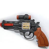 Игрушечный пистолет 391 на батарейках свет звук