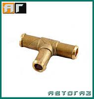 Тройник тосольный ГБО 12 мм GZ-07-65