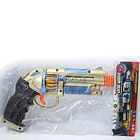Игрушечный пистолет АК798 на батарейках свет звук