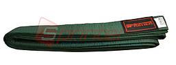 Пояс карате (270см., зеленый)