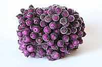 Сахарные ягодки 400 шт/уп.оптом пурпурного цвета цвета (калина в сахаре)