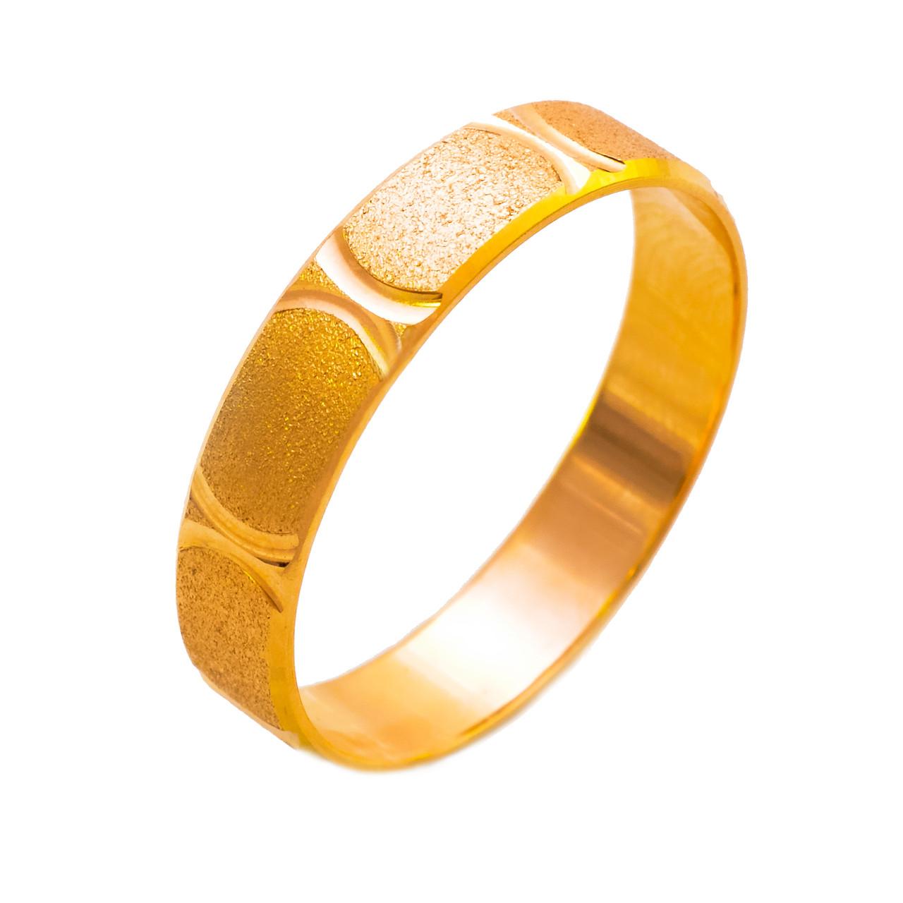 Золотые обручальные кольца 3.2, 102979, 18