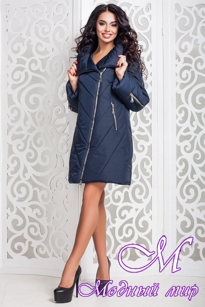 Демисезонная женская куртка больших размеров (р. 44-58) арт. 970 Тон 18