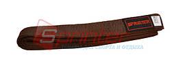 Пояс карате (270см., коричневый)