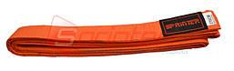 Пояс карате (270см., оранжевый)