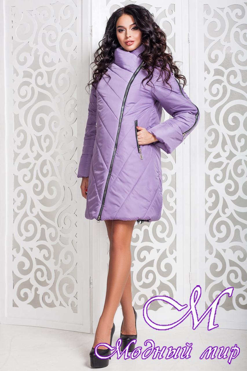 Осенняя женская куртка больших размеров (р. 44-58) арт. 970 Тон 22