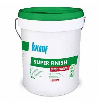 Готовая шпатлевка Knauf Sheetrock super finish (28кг) - Uniteddecor в Днепре