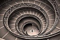 """Бесшовные фотообои """"Винтовая лестница"""" 435х300 см"""