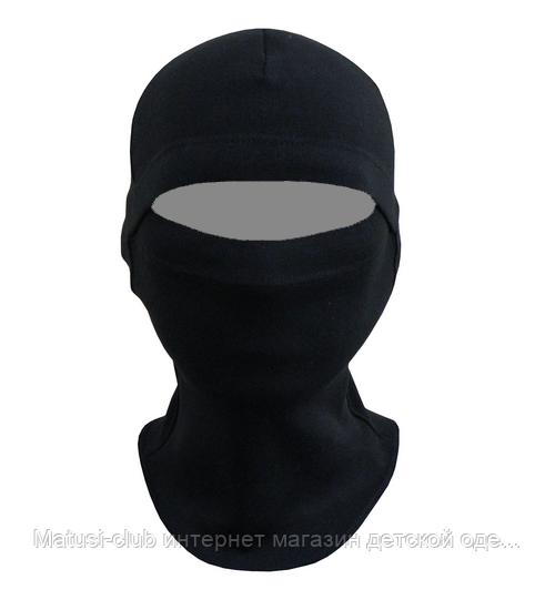 KAY - стретч-флис, черный