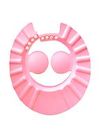 Шапочка для купания и стрижки розовая